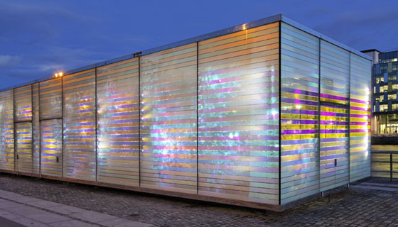 Chameleonlab - dichroic interlayers  in glass